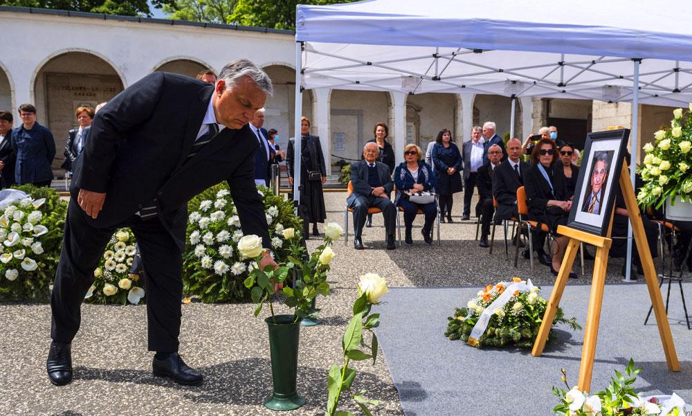 Eltemették Hámori József volt minisztert, Orbán Viktor is ott volt a búcsúztatón