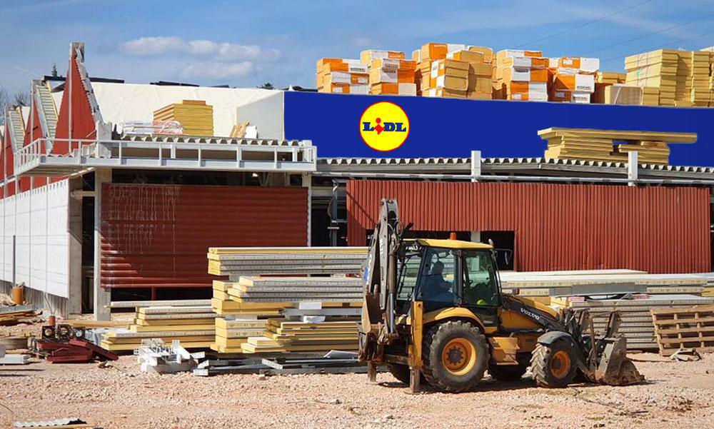 Megszólalt a Lidl: ezért kellett visszabontani az épülő áruházukat Budakeszin, elárulták mi lesz a boltban