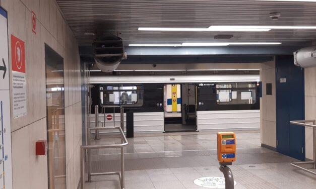 Túlélte a balesetet, de az egyik lábát elveszítette az a 30 év körüli férfi, aki pénteken ugrott a metró alá a Gyöngyösi utcánál