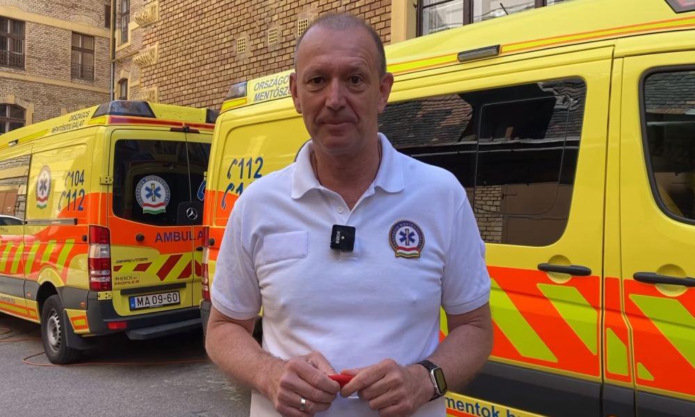 """""""Az, hogy valaki lelkileg erős, nem azt jelenti, hogy nem inog meg a súlyok alatt"""" – Győrfi Pál szerint a mentőknek is fontos, hogy tudjanak segítséget kérni"""