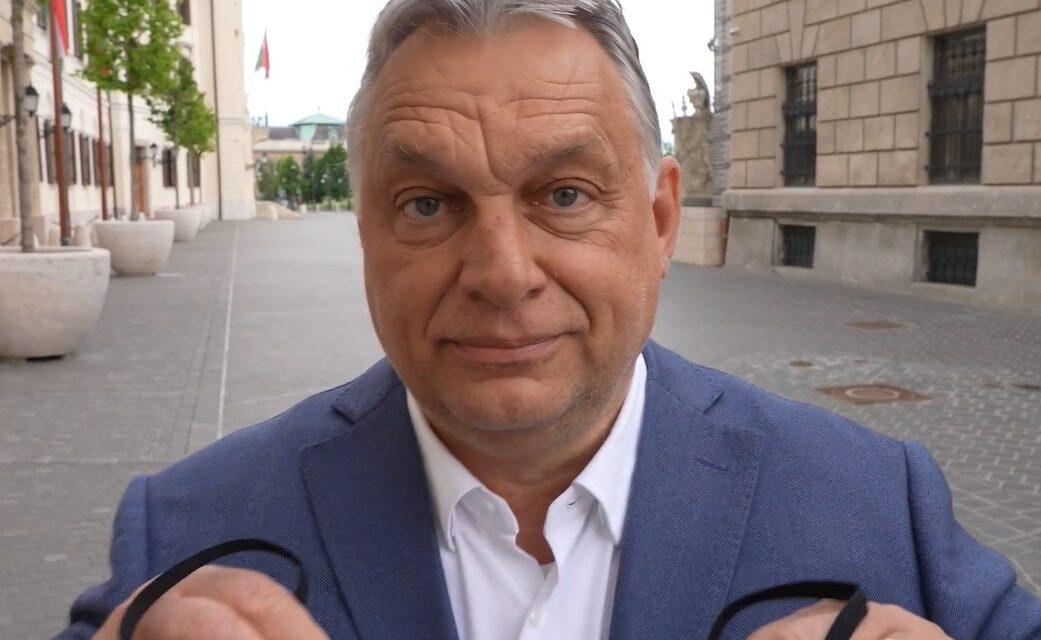 Így szabadult meg saját maszkjától Orbán Viktor – Megvan az ötmilliomodik beoltott, lássuk mit is jelent mindez – videó