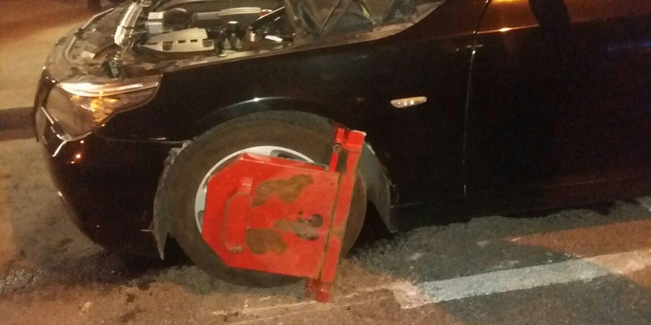 Kerékbilinccsel szántotta fel a pesti Király utcát egy ázsiai vendégmunkás, ráadásul nem először csinált ilyet – Fotó