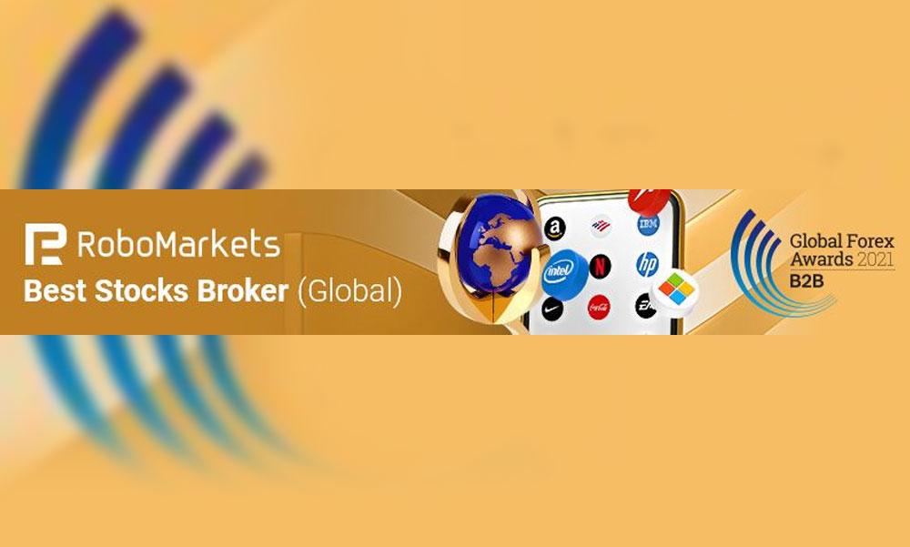 """RoboMarkets rangos díjat kapott a """"Global Forex Awards 2021 – B2B"""" rendezvényen"""