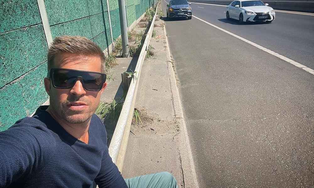 Ezt üzente a Magyar Közút az autópályán veszteglő Sebestyén Balázsnak