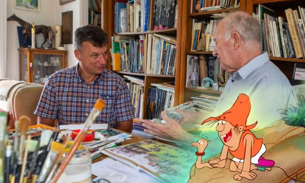 A nagy ho-ho-horgász alkotójával fontos szerződést írt alá a Dunakeszi polgármestere