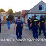 Akcióban az érdi rendőrök: Hajnalban érkeztek, flip-flop papucsban vitték börtönbe a meglepett bűnözőt
