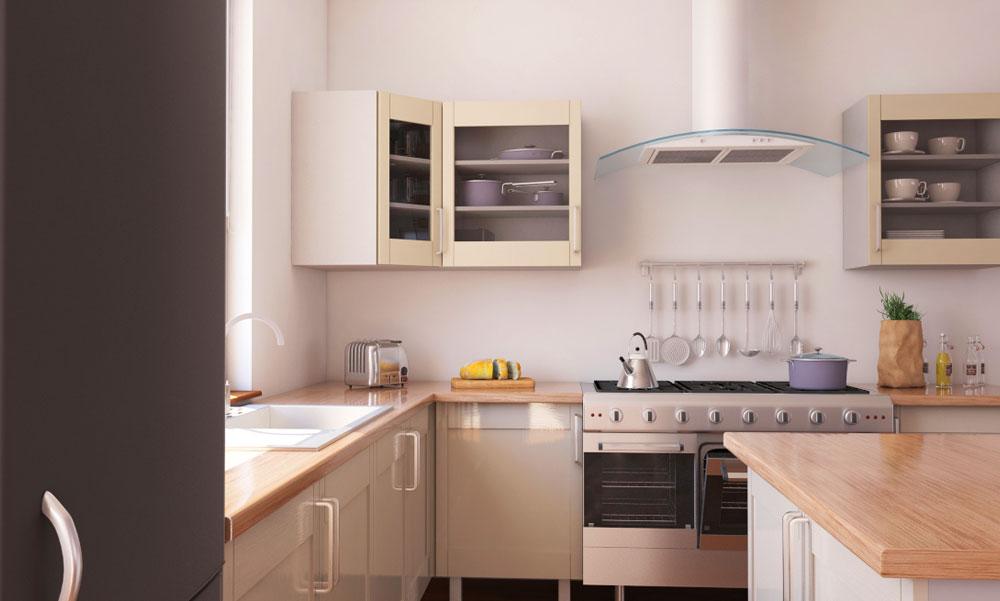 A gyönyörűen összeszerelt IKEA konyhabútor 3 titka