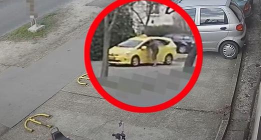 Késsel támadtak egy taxisra Zuglóban, videó is látható az esetről