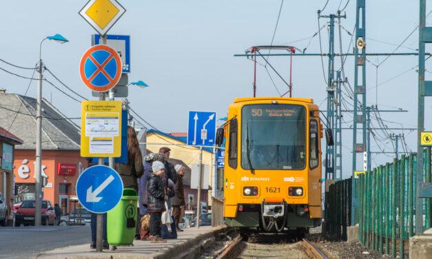 Felújítják az 50-es villamos teljes vonalát, nem lesz egyszerű közlekedniük a dél-pestieknek decemberig