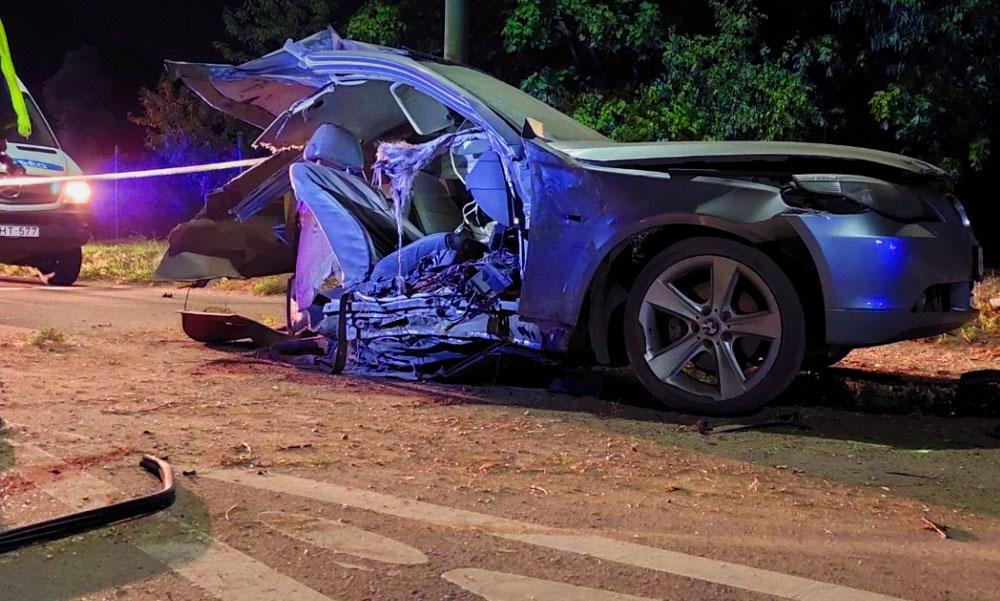 Halálos baleset: kettészakadt a BMW, közben óriási a torlódás az M3-as autópályán