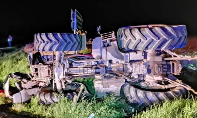 Traktor borult egy emberre Solymáron, az idős férfi életét a mentők már nem tudták megmenteni