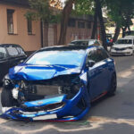 Sokkoló budapesti balesetet rögzített egy autós kamerája a 13. kerületben