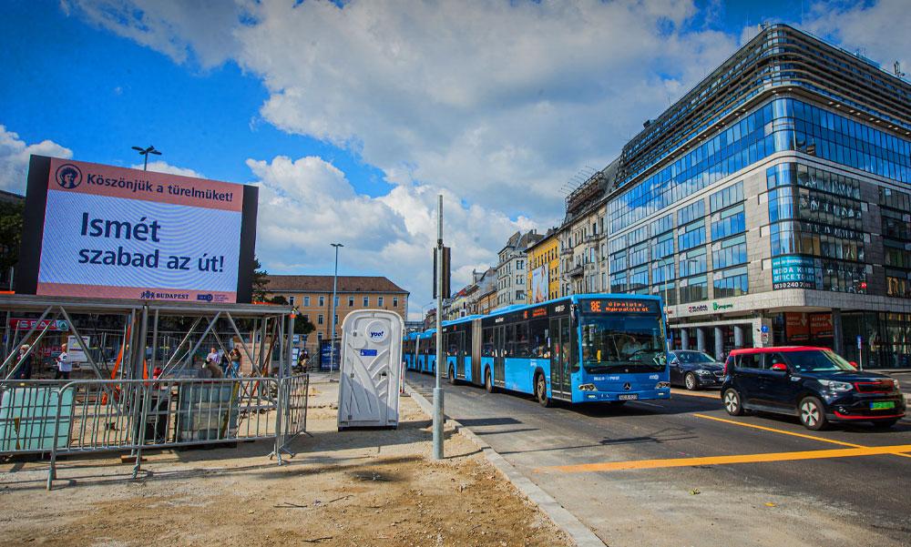 Vége a Blahán a forgalomkorlátozásnak, így változik hétfőtől a közlekedés a környéken, itt vannak a részletek!