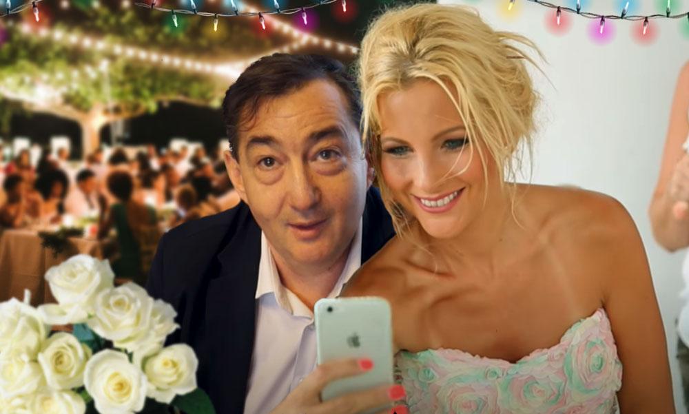 Szerelmes számok, luxus és csókok Mészáros Lőrinc és Várkonyi Andrea esküvőjén, közben rengeteg biztonsági őr figyelt mindent – helyszíni beszámoló Alcsútról