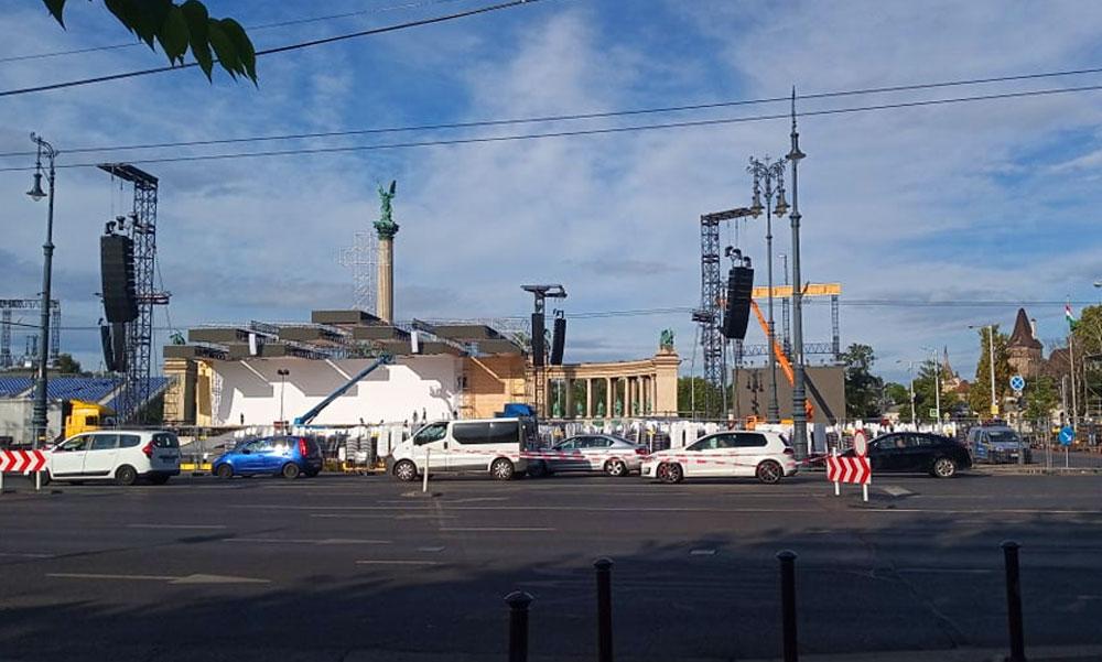Jön a pápa, Budapest pedig megbénul – Itt a BKK közlése