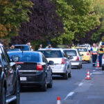 Razzia futószalagon: Senki sem menekülhetett a rendőrök elől, mindenkit megállítottak