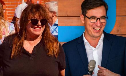 Kampányhajrá Érden: az ellenzék Karácsony Gergelyt, a Fidesz Zalatnay Cinit vetette be