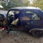 Drámai fotók a dunavarsányi halálos balesetről, a sofőr feltehetően rosszul lett – Sokkoló részletek a tragédiáról