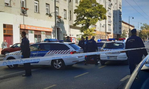 Ráugrott a rendőrautóra, majd rosszul lett egy férfi Józsefvárosban, a mentők már nem tudták újraéleszteni