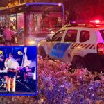 Busz alá esett a férfi a megállóban, átmenet a lábán a 16 tonnás jármű, azonnal kórházba vitték