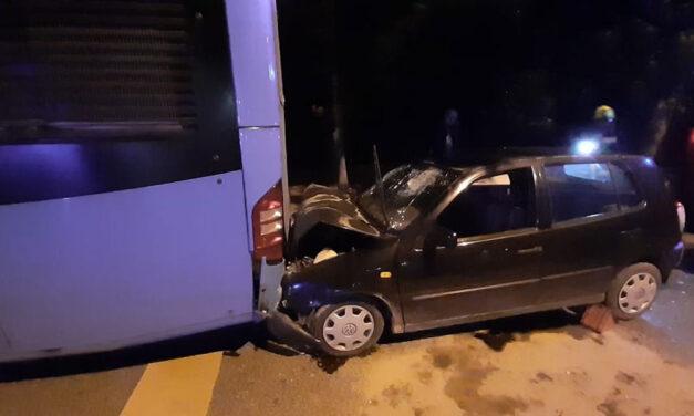 Dráma a fővárosi éjszakában: Két buszbaleset, az egyiknél halálos áldozatok vannak, a másiknál lelépett a balesetet okozó sofőr