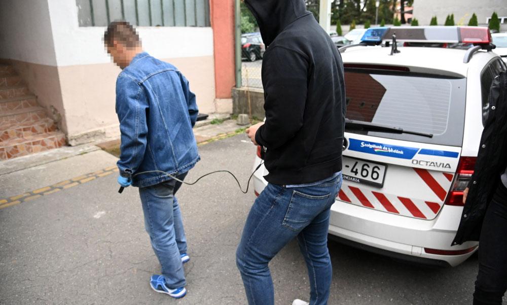 Nagyon belehúzott a szentendrei rendőrkapitány, Krauth Ferenc emberei egyszerre 7 drogdílert kapcsoltak le
