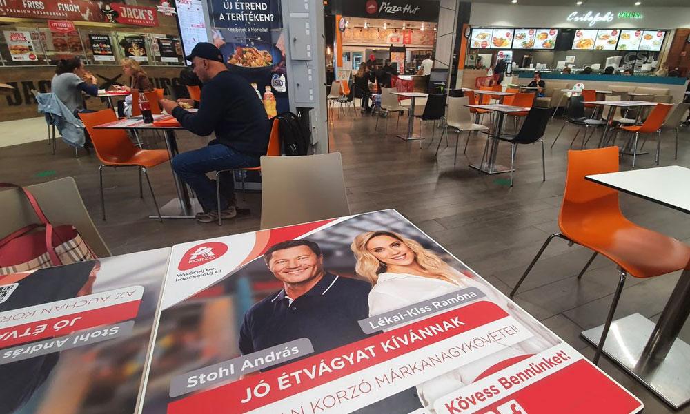 Stohl András és Kiss Ramóna fején ebédelhetsz, sokat bírnak, az ételmaradék sem árt meg nekik