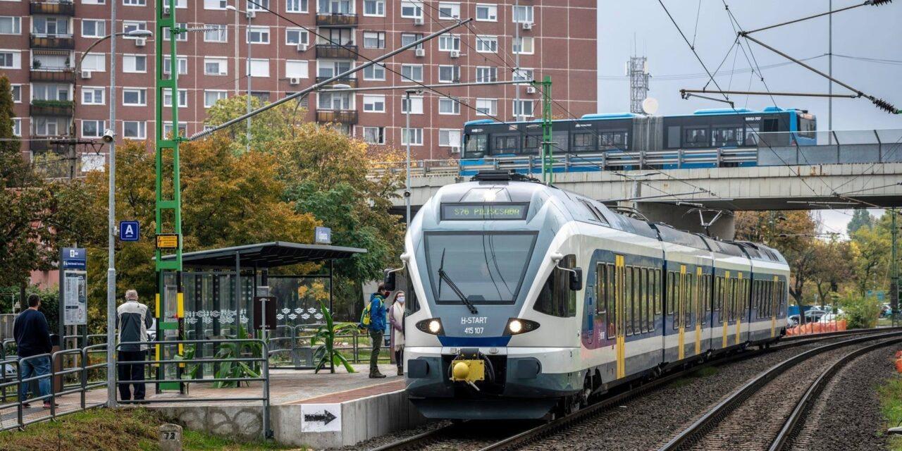 Álomvonatozás, új vasúti megállók a körvasúton Albertfalvától Pestújhelyig