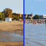 Ilyen volt, ilyen lett – Látványos fotókon a Velencei-tó vizének eltűnése